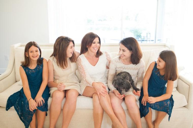 Gayle Guyardo and her daughters.