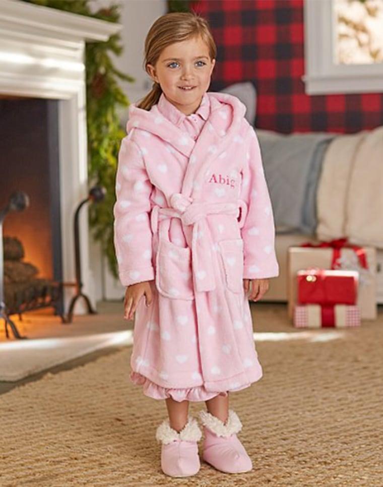 potery barn kids robe