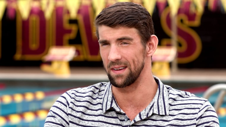 Michael Phelps on TODAY