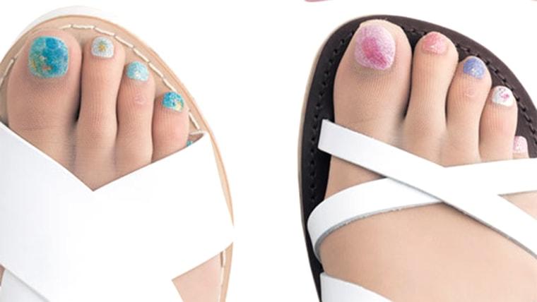 Nail polish stockings