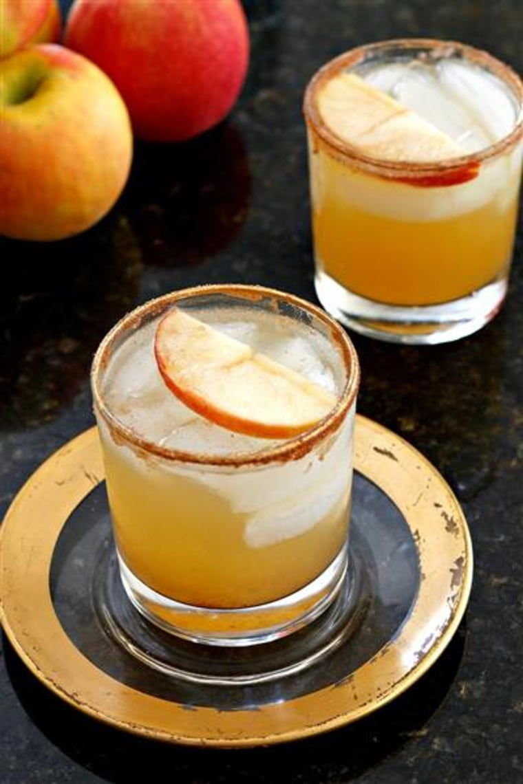 Thanksgiving cocktail: Apple cider margaritas
