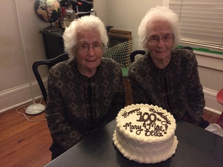 Wallace twins turn 100
