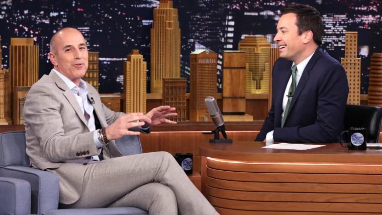 Matt Lauer on The Tonight Show Starring Jimmy Fallon