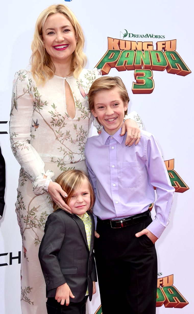 Kate Hudson and sons