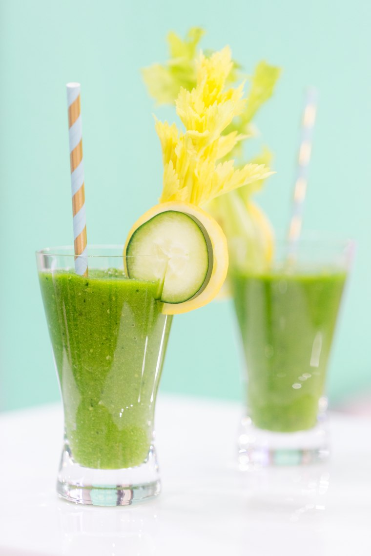 Dr. Oz's recipe for a healthy vegetable smoothie to rid your body of toxins