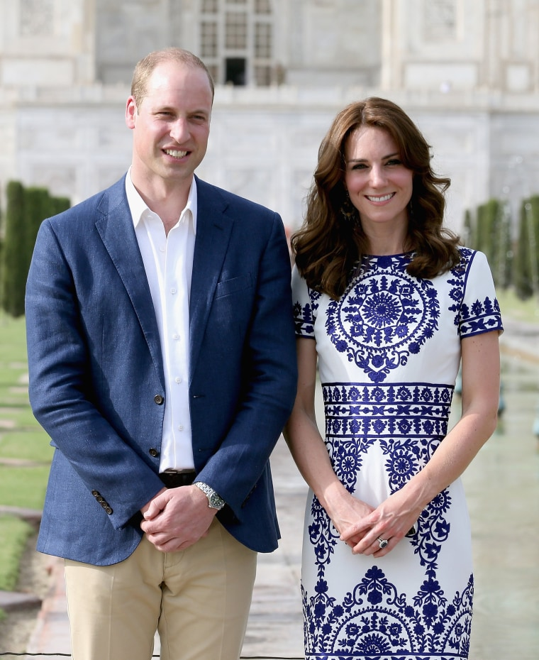 Duke and Duchess Of Cambridge Visit India and Bhutan