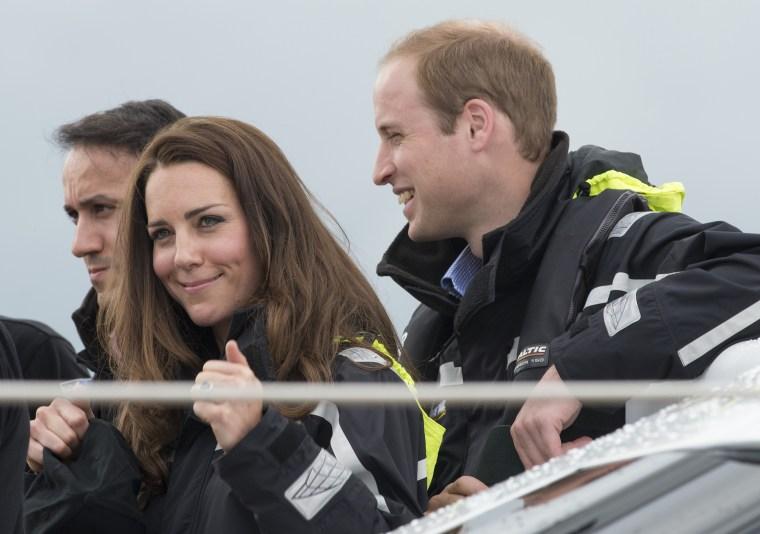 Royals sailing