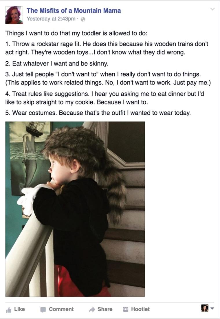 Toddler privilege