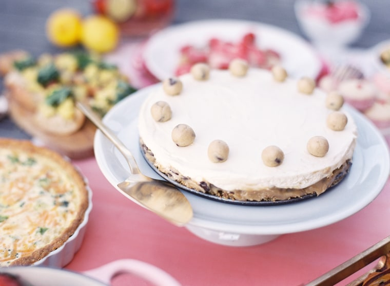 Cookie dough cheesecake by YouTube star Jemma Wilson of Cupcake Gemma