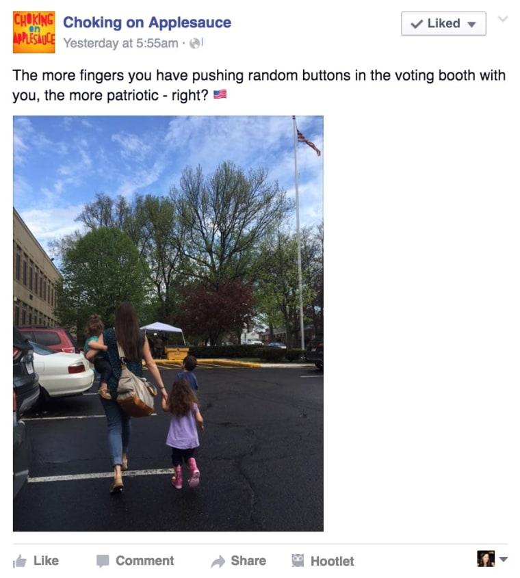 Voting tweet