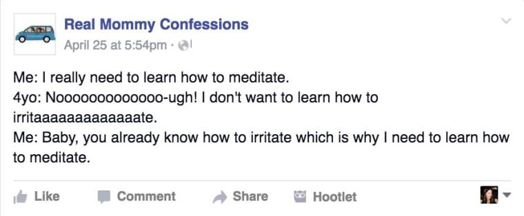 Meditation post