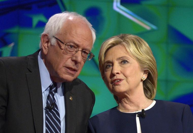 Image: US Democratic Presidential debate at Wynn Las Vegas