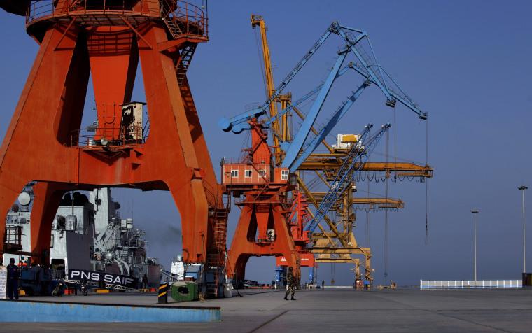 Image: Gwadar port