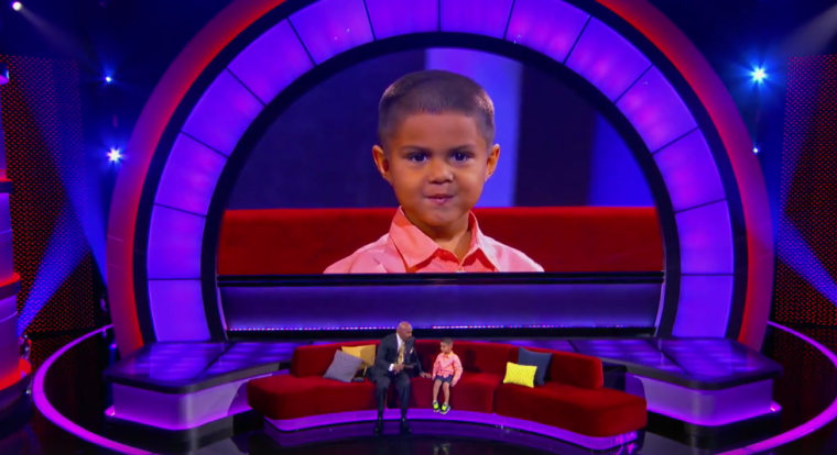 """Five-year-old Luis Esquivel Jr. went on NBC's \""""Little Big Shots\"""" to demonstrate his extraordinary math skills."""