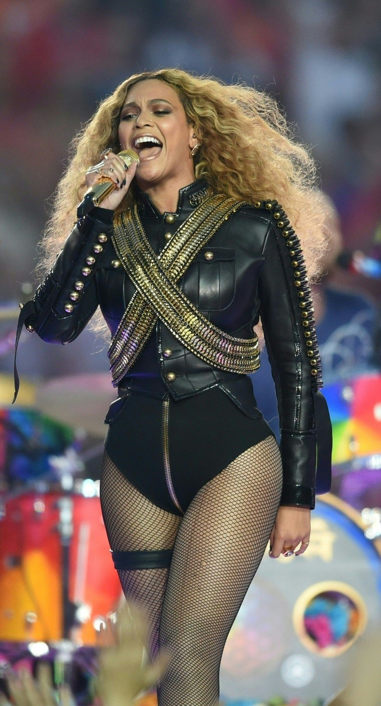 Image: Beyonce on Feb. 7, 2016
