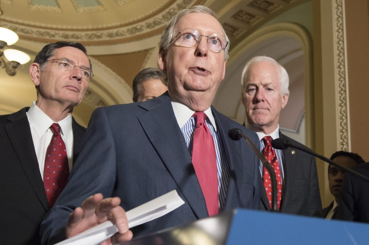 Image: Republican leadership news conference