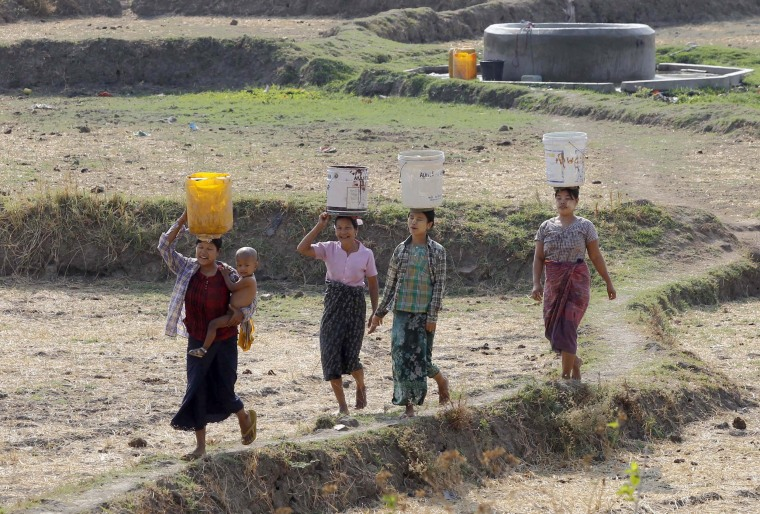 Image: Drought expected in Myanmar