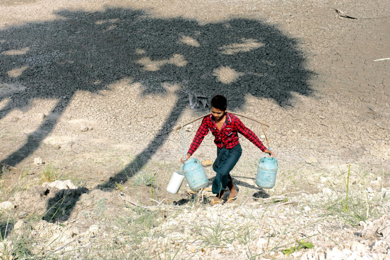 Image: Drought expected in Mandalay