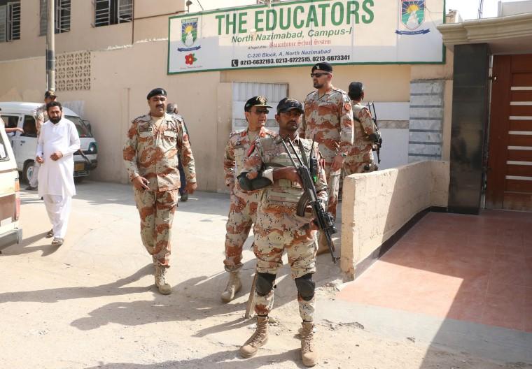 Image: Rangers in Karachi