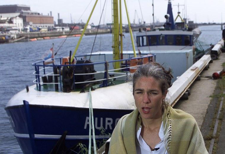 Image: Dr. Rebecca Gomperts in 2001