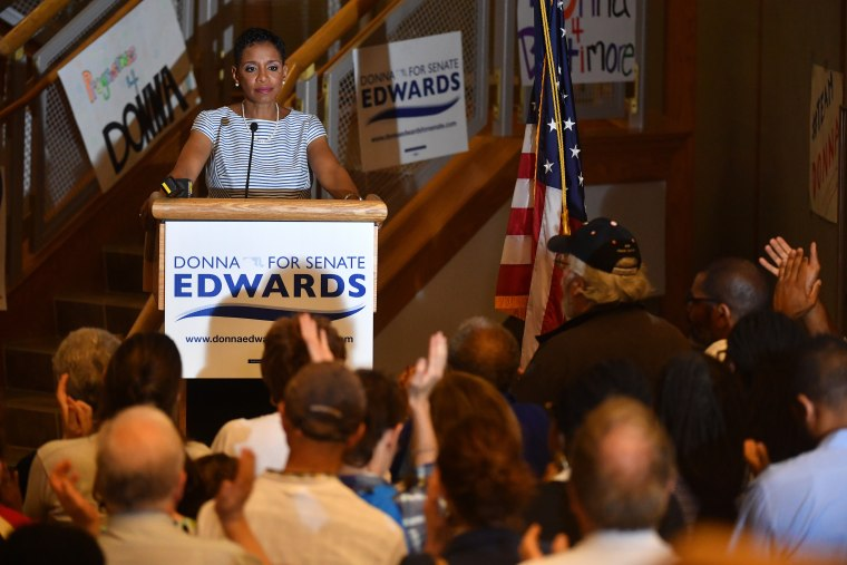 Maryland Democratic Senate Race