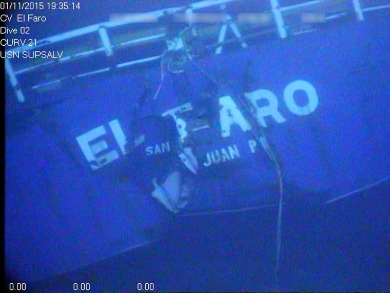 Image: El Faro data retrieval
