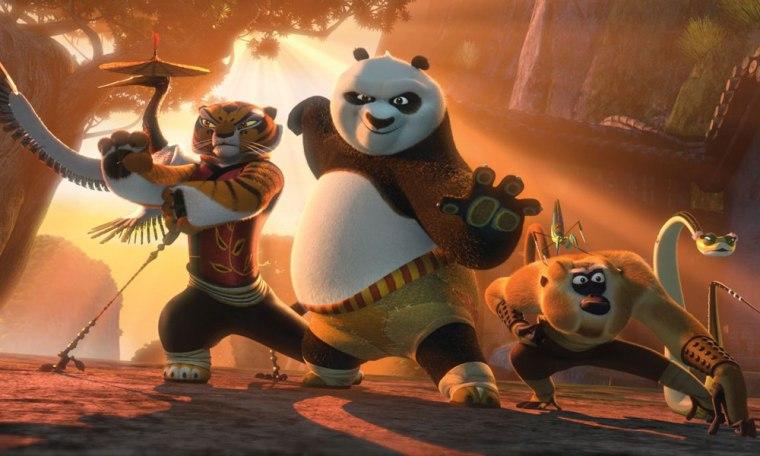Image: A scene from DreamWorks' Kung Fu Panda