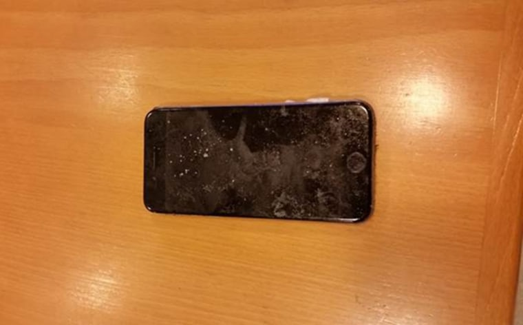 Image: An iPhone was recovered belonging to Austin Stephanos