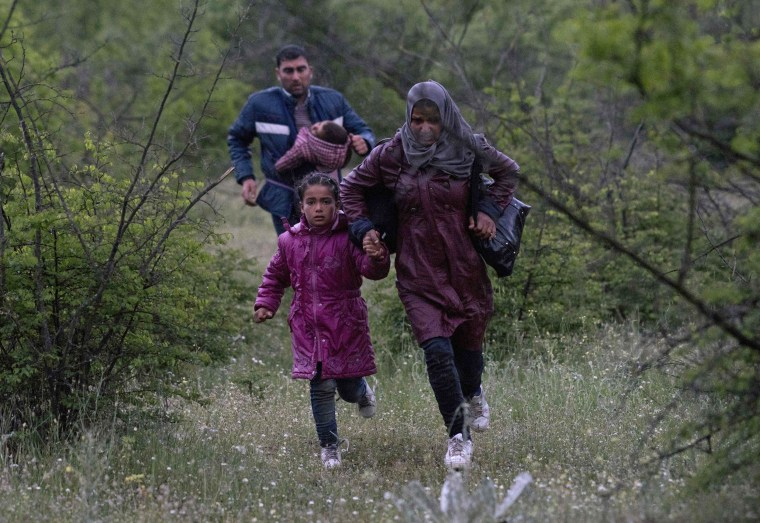 Image: MACEDONIA-GREECE-EUROPE-MIGRANTS