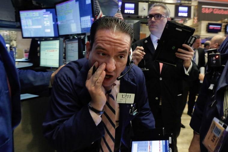 Image: Tommy Kalikas, NYSE trader