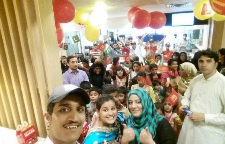 Image: McDonald's restaurant in Quetta, Pakistan