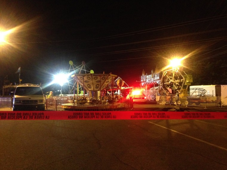 El Paso Police say one teen is dead following a carnival ride accident at an East El Paso Church.