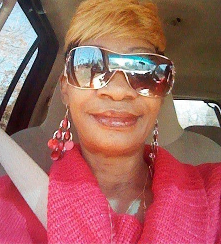 Lenda Asberry and her grandchildren were killed in flooding in Palestine, Texas.
