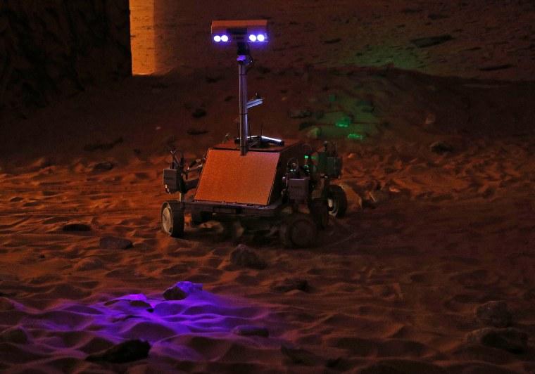 Image: BRITAIN-SPACE-MARS-EXPLORATION