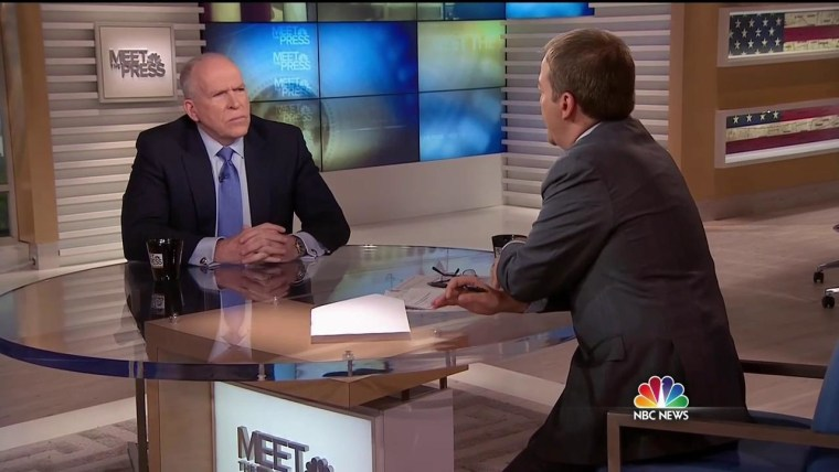 CIA Director John Brennan on NBC's Meet the Press with Chuck Todd