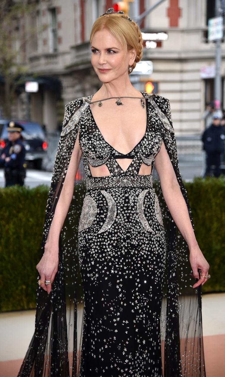 Nicole Kidman at the Met Gala