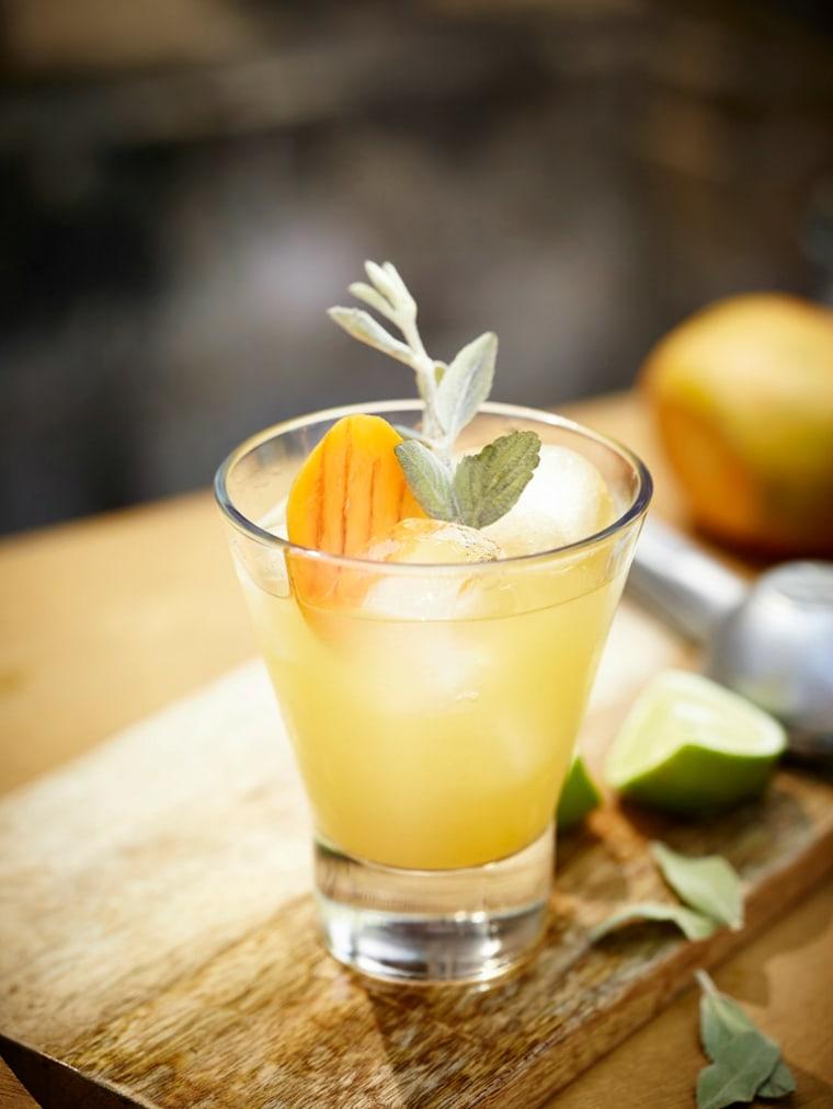 Cinco de Mayo cocktail recipes: Mango-sage margarita