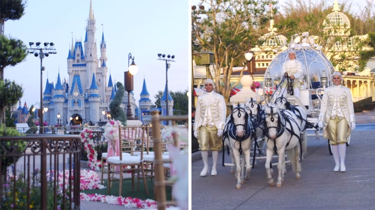 Disney Wishes Wedding: Magic Kingdom's East Plaza Garden