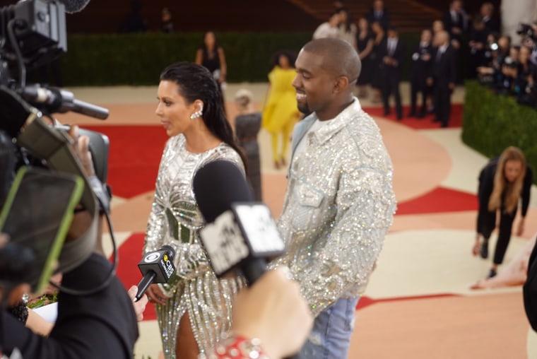 Kim Kardashian, Kanye West Met Gala 2016