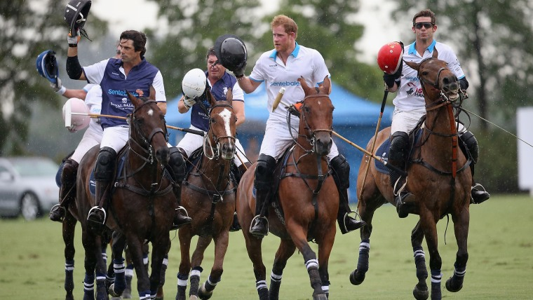 Sentebale Royal Salute Polo Cup In Palm Beach With Prince Harry