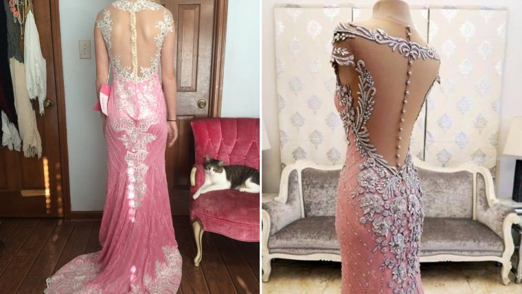 teen scammed on prom dress