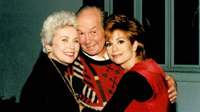 Kathie Lee with her parents
