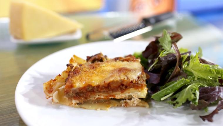300 Calorie Healthy Lasagna