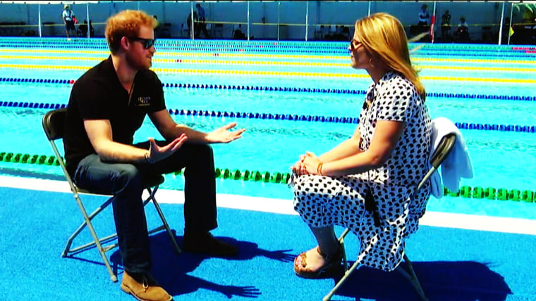 Prince Harry on soldiers in the Invictus Games: 'We're all the same'