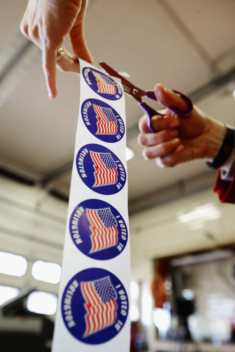 Image: BESTPIX - Voters In Super Tuesday States Cast Their Ballots