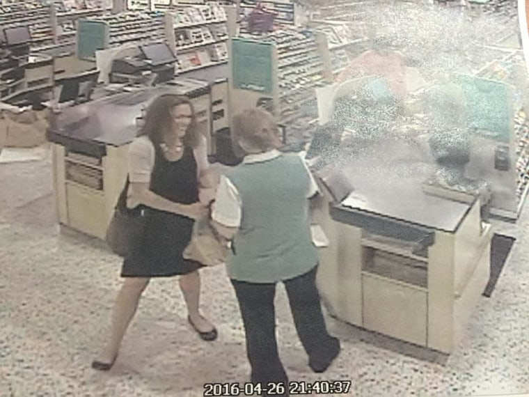 The last known photo of Tricia Todd, taken at a Publix grocery store in Hoby Sound.
