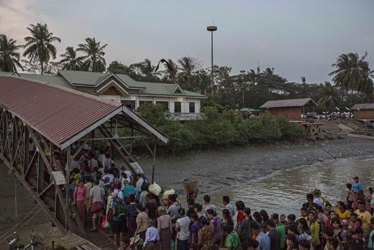 Image: El Nino Dry Spell Hits Myanmar
