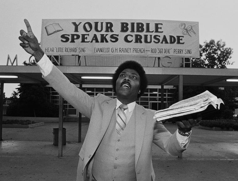 Little Richard Preaches The Gospel
