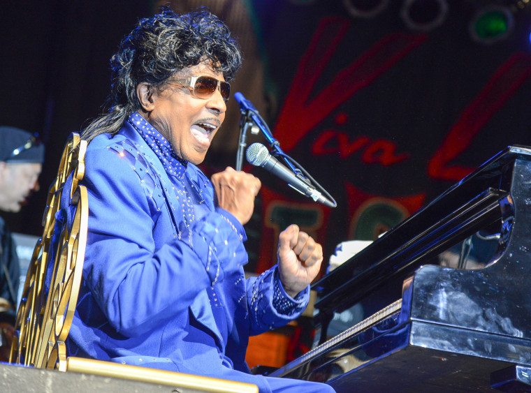 Little Richard in concert performs at Viva Las Vegas Rockabilly Weekend on March 30, 2013.