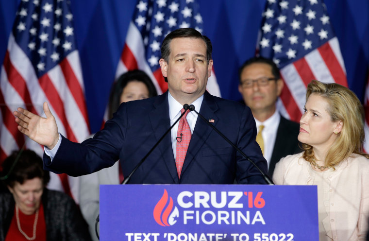 Image: Ted Cruz ends campaign